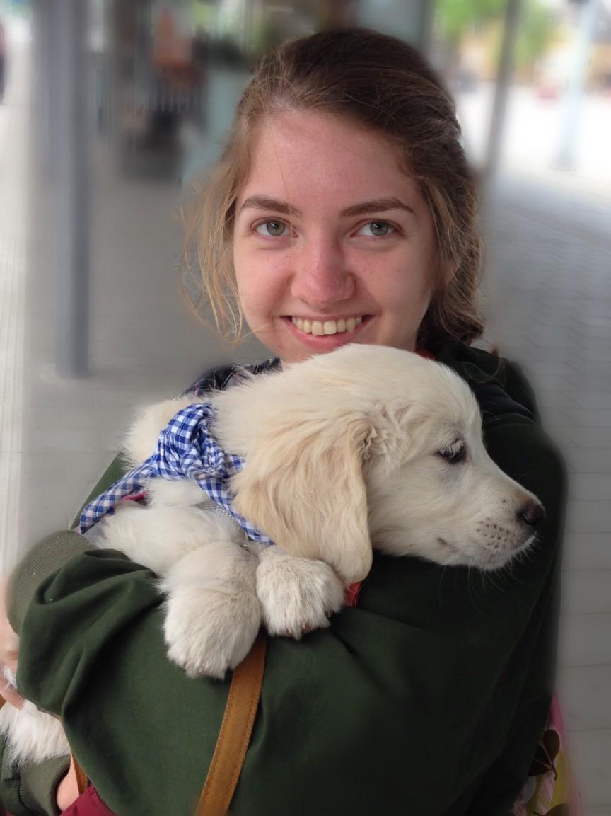 Puppy Olivier